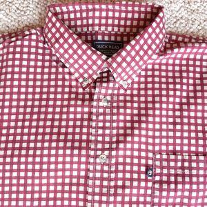 Mens Duck Head Plaid Shirt size 1XL